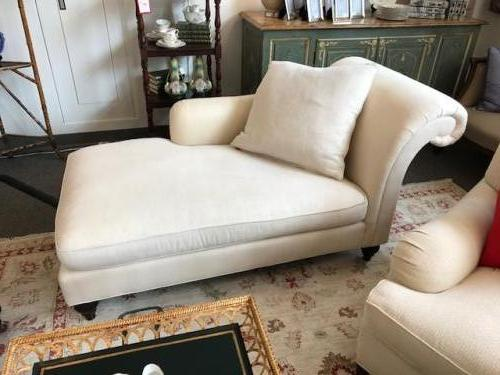 "BAKER BEIGE CHAISE LOUNGE 64""L X 32""D X 30""H CONSIGNED AT $995 REDUCED TO SELL $795"