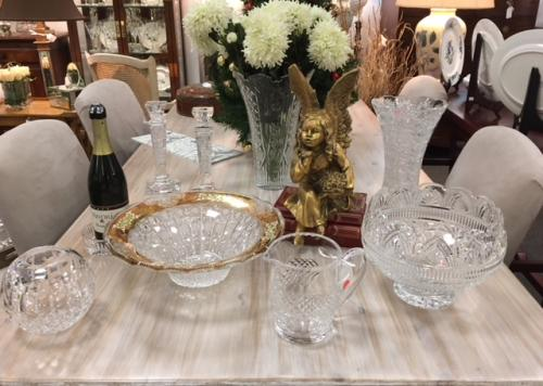 COLLECTION OF UNIQUE WATERFORD CRYSTAL $24 - $195