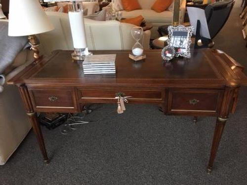 "FRENCH WRITING TABLE 52""W X 25.5""D X 28.5""H $795"