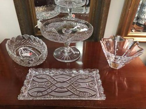 COLLECTION OF WATERFORD, ORREFORS & CUT CRYSTAL $36 - $75