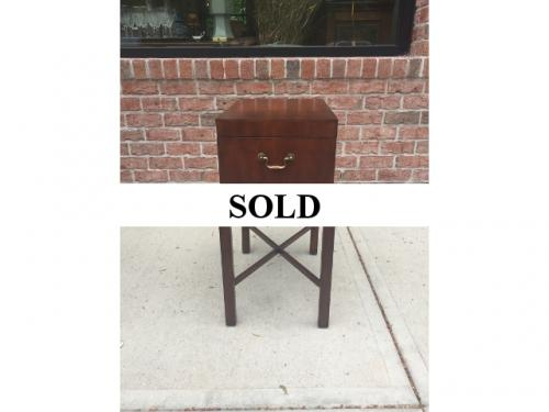 SMALL BOX TOP TABLE $250