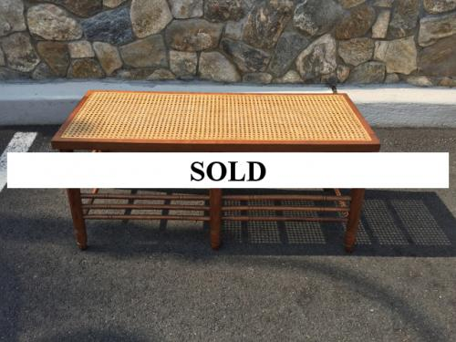 CANE BENCH $220