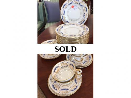 TIFFANY CHINA LUNCHEON SET $180