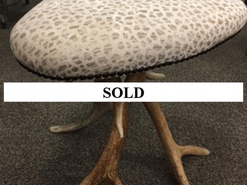SMALL BENCH ANTLER BASE $250