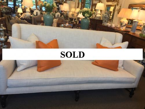 SOFA WITH HIGH BACK $995