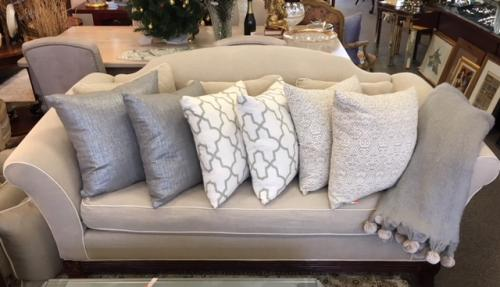 SELECTION OF HOME ACCESSORIES PILLOWS $160 PAIR THROW $115
