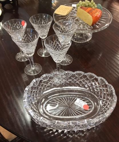 COLLECTION OF WATERFORD CRYSTAL $36-$125