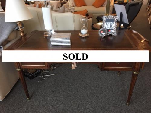 """FRENCH WRITING TABLE 52""""W X 25.5""""D X 28.5""""H $795"""