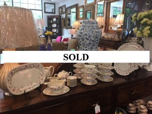 ROSENTHAL SERVICE FOR 12 WITH SERVING PIECES $395