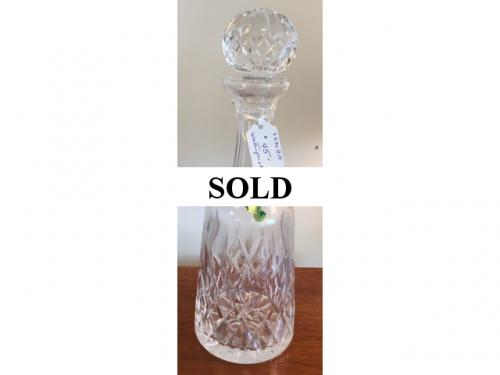 WATERFORD DECANTER $45