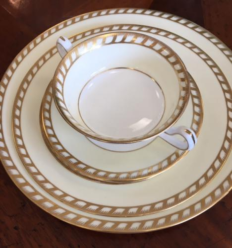 LOT MINTON GOLD/WHITE CHINA $195