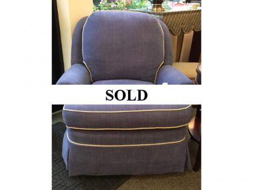 BLUE SWIVEL/ROCKER $275