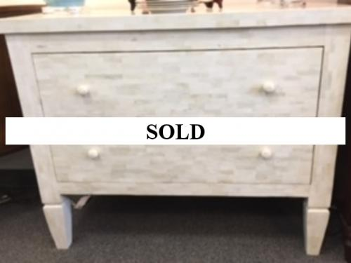 MOTHER OF PEARL CHEST $1295