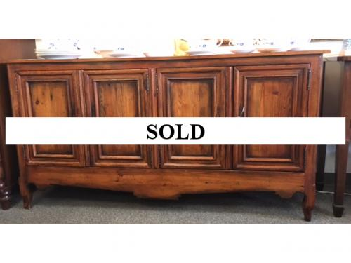 HENREDON 4-DOOR CABINET FROM THE ACQUISITIONS COLLECTION $1095