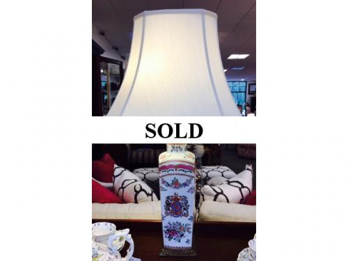 FRENCH PORCELAIN LAMP $150