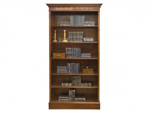 English Mahog Single Bookcase 36W x 11D x 84H