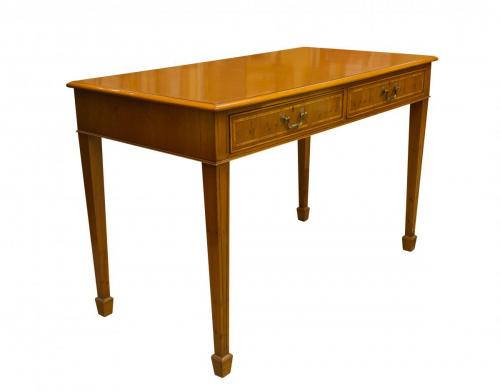 English Yew Computer Desk 2′W x 4′L x 32H